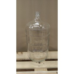 6 gallona glerflaska
