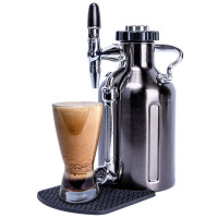 GrowlerWerks uKeg™ Nitro 50 black chrome - 1.5 l