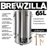 Brewzilla - 65 lítra  bruggtæki