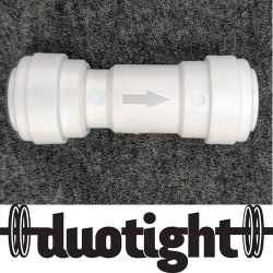 Duotight 9.5mm (3/8) einstefnuloki